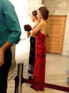 Brides Margaret Miles and Cathy ten Broeke
