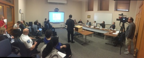 Legal Analyst Ryan Patrick presents the investigative detention data.