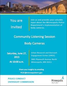 06-27 Listening Session Flyer