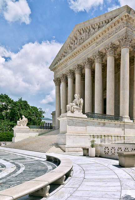 The U.S. Supreme Court. Photo Credit- Architect of the Capitol.